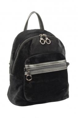 Фото Черный женский рюкзак 3527