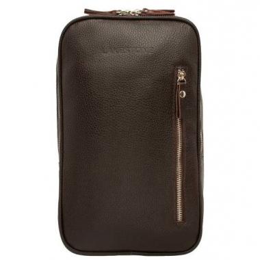 Фото Однолямочный кожаный рюкзак Scott Brown