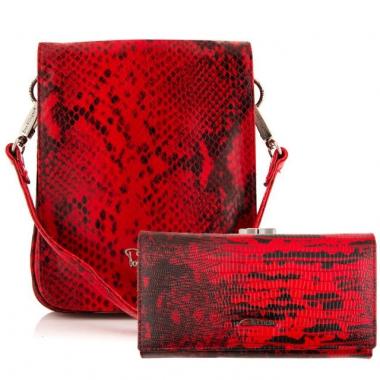 Фото Комплект аксессуаров 23N - женская сумочка и кошелек