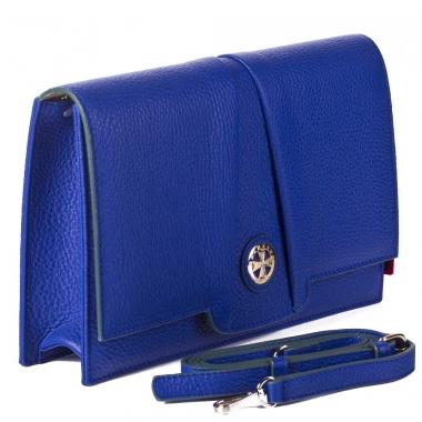 Фото Синяя дамская сумка Narvin 9957 N.Polo Ultra Blue