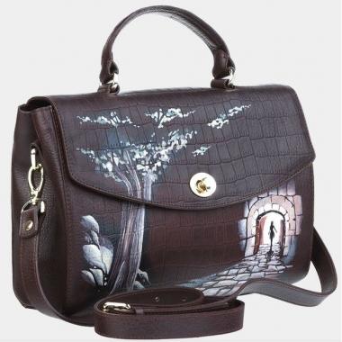 Фото Дамская сумочка Рилье «Тропа в Зазеркалье»