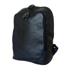 Кожаный городской рюкзак Маджионе черный