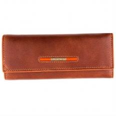 Кожаная ключница 0021-12-625A brown