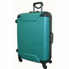 Бирюзовый чемодан на колесах 00573