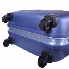 Чемодан на колесах 01266 синий фото-2