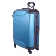 Бирюзовый чемодан на защелках 01368