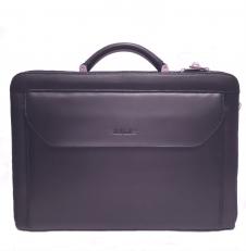 Черный кожаный кейс 04-019801