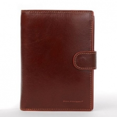 Бумажник 025-625B рыжий