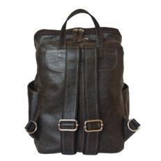 Стильный мужской рюкзак Тиваро коричневый фото-2