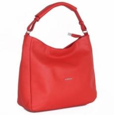 Красная кожаная сумка 04370 DX-A53