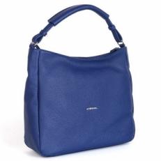 Синяя кожаная сумка 04370 DX-A2