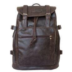 Мужской рюкзак Вольтурно коричневый
