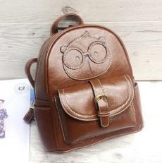 """Маленький рюкзак """"Мишка"""" коричневый"""