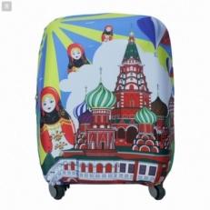 Чехол на чемодан Russian-M
