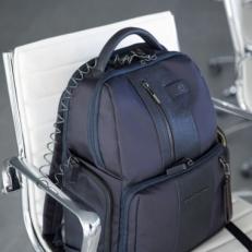 Кожаный рюкзак Piquadro CA4550BRBM/GRN фото-2