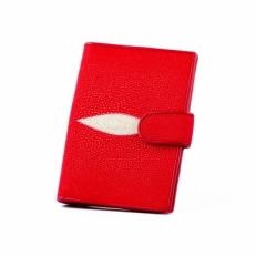 Обложка для документов, цвет: красный