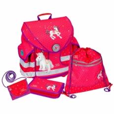 Школьный ранец 10579 розовый