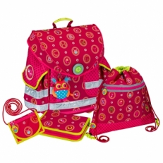 Школьный ранец 10674 розовый