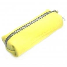 Кожаная ключница 1330 желтая