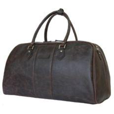 Кожаная сумка для ручной клади Норманно коричневая