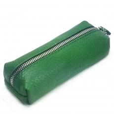 Кожаная ключница 1330 зеленая