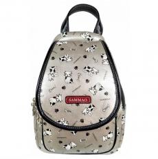 Однолямочный серебряный рюкзак
