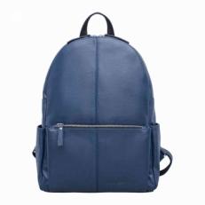 Женский рюкзак из гладкой кожи Belfry Dark Blue