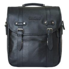 Черная сумка-рюкзак Тронто