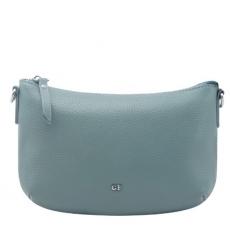 Голубая сумка с ремнем через плечо 1700
