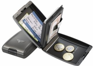Алюминиевый кошелек Tru Virtu Oyster 14.10.1.0001.07