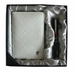 Набор: Обложка для паспорта и ручка PS1138WH