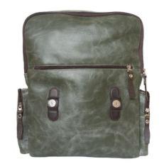 Мужской рюкзак Сантерно зеленый фото-2