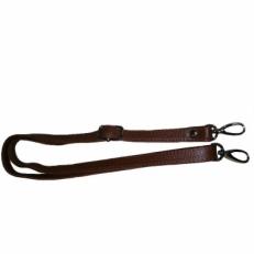 Регулируемый ремень на сумку коричневый фото-2
