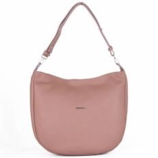 Женская кожаная сумка 2017152 розовая