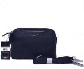 Кожаная сумочка 2017273-Q53 синяя