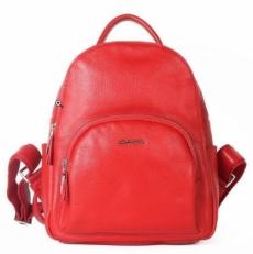 Красный кожаный рюкзак 201776 DX-6