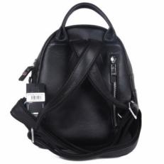 Черный кожаный рюкзак 201776 Q11 фото-2