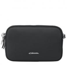 Черная сумочка на ремне через плечо 201850087C