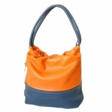 Сумка женская KSK 2106 сине-оранжевая