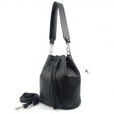 Кожаная женская сумка торба 2214