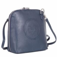 Маленькая женская сумка 22395 Q33 синяя