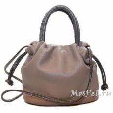Дамская сумочка женская в виде мешочка 2316