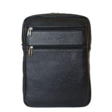 Кожаный мужской рюкзак Берутто черный фото-2
