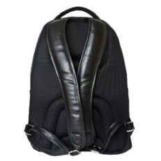 Черный кожаный гордской рюкзак Кольтаро фото-2