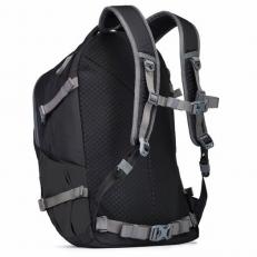 Черный рюкзак антивор для путешествий Venturesafe 28L G3 фото-2
