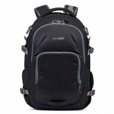 Черный рюкзак антивор для путешествий Venturesafe 28L G3