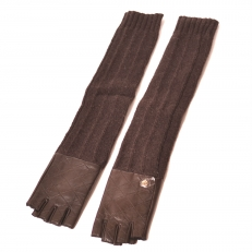 Длинные перчатки шерстяные 29K-40038-1