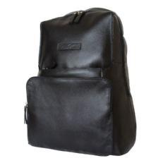 Черный кожаный рюкзак Авизо
