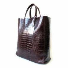 Жесткая женская сумка без подкладки 3002