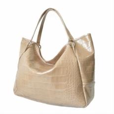 Большая женская сумка 3030 бежевая
